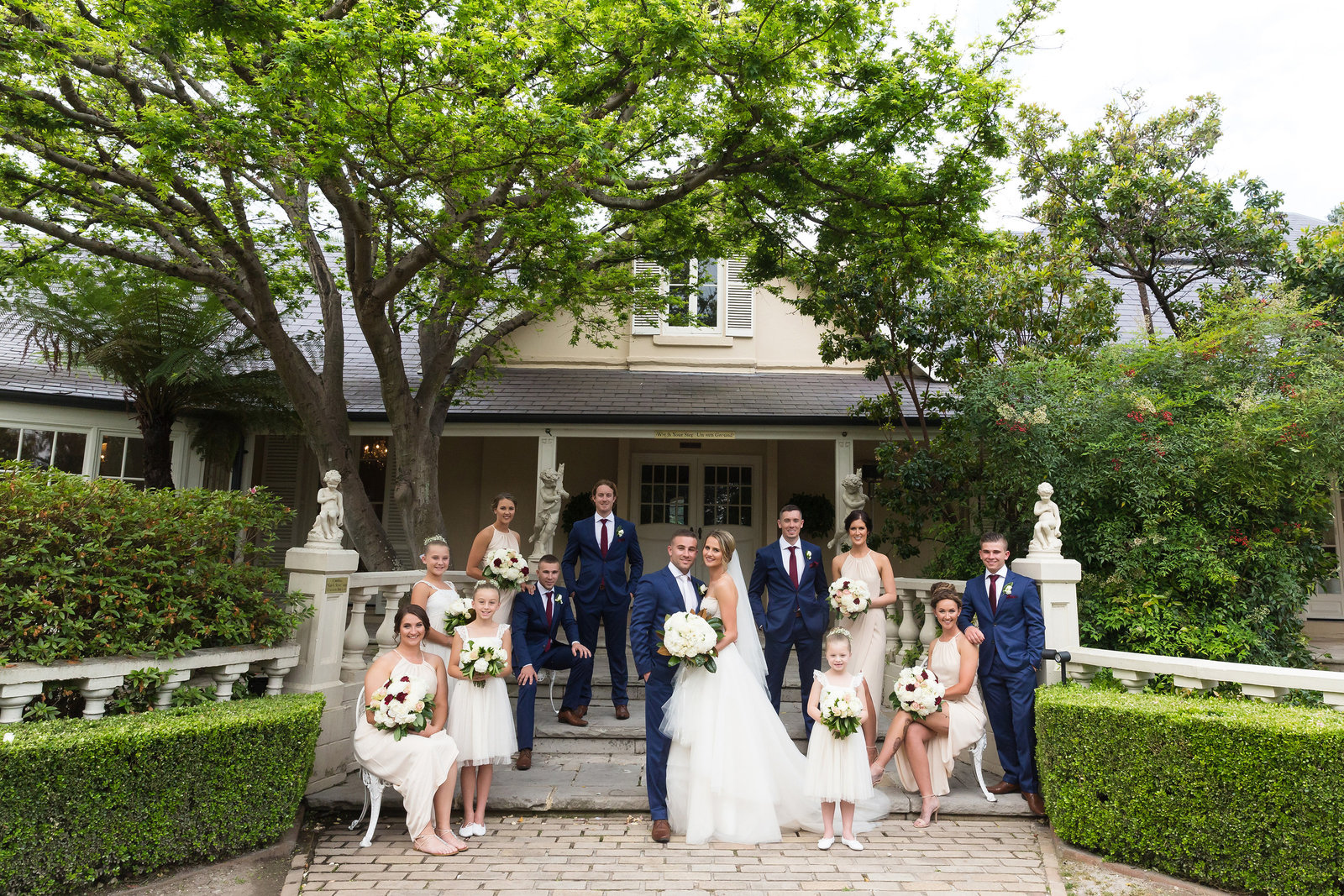Bridal Party - Karen Gilvear Photography