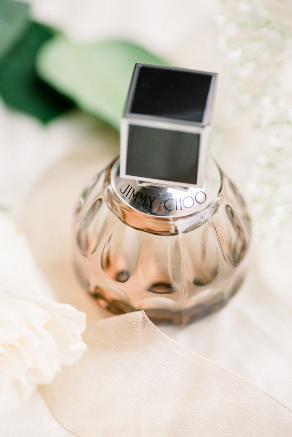 Tucson The Lodge at Ventana Canyon Classic Wedding Photo of Bridal Perfume Details | Tucson Wedding Photographer | West End Photography