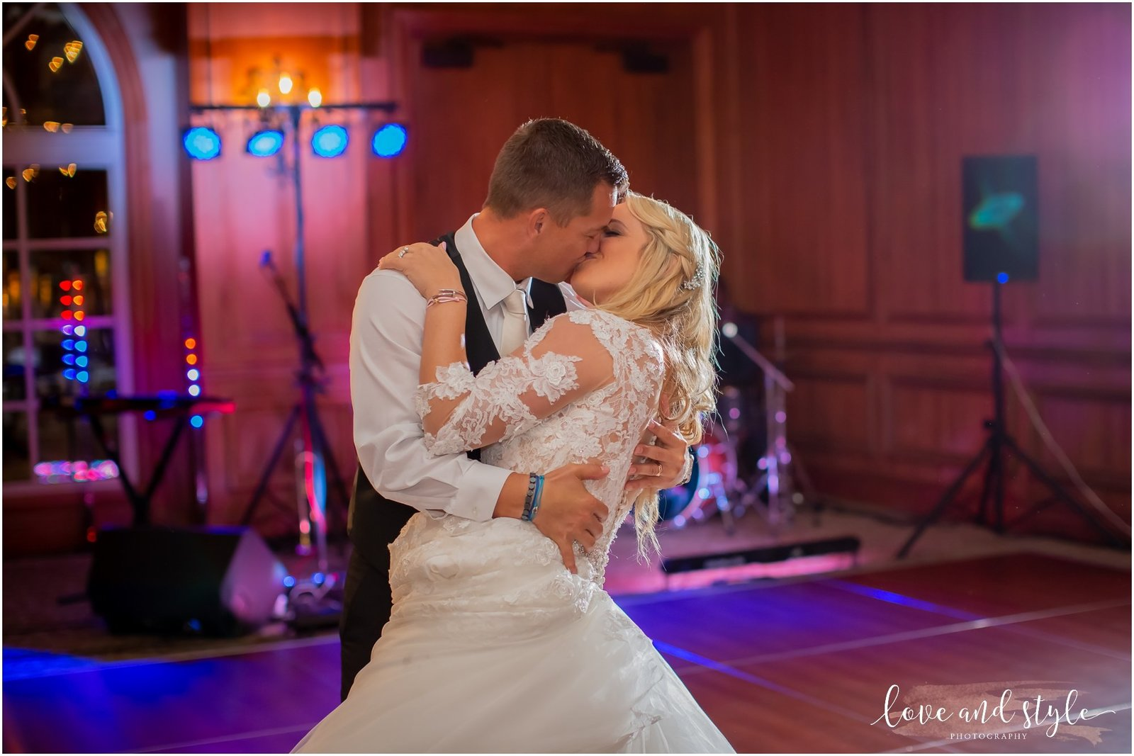 Bride and Groom's first dance at The Ritz Carlton, Sarasota