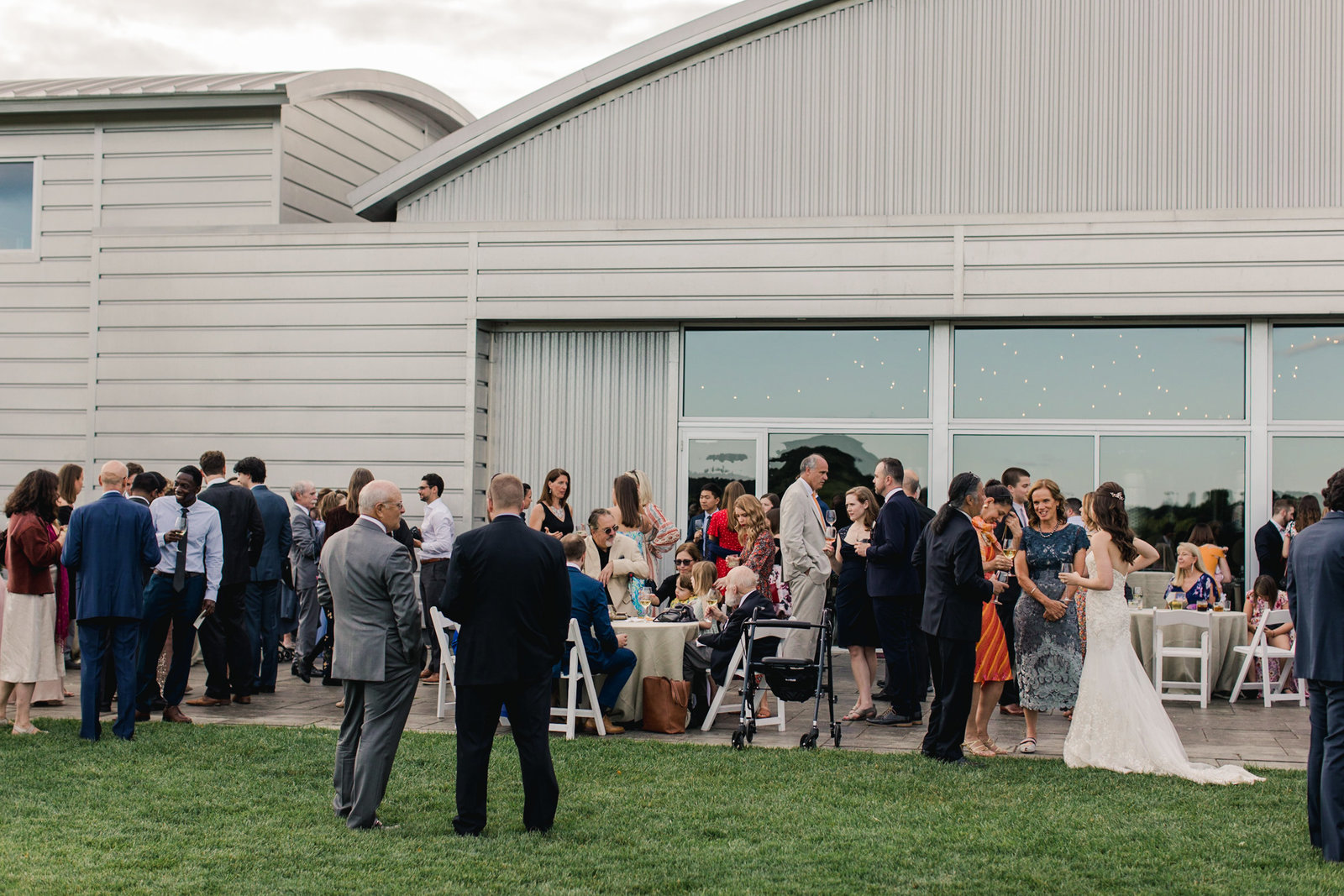 Saltwater Farm Vineyard Wedding_Industrial Summer Wedding