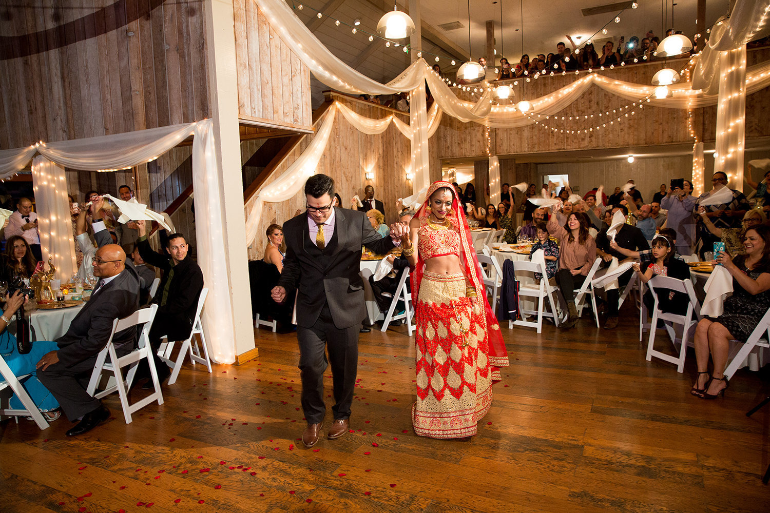 Grand Entrance at a Multi-Cultural Wedding