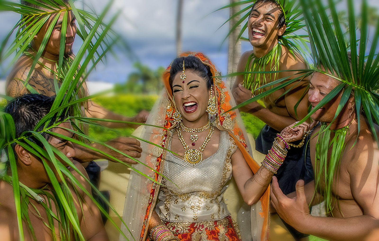 Maui Indian wedding photographers