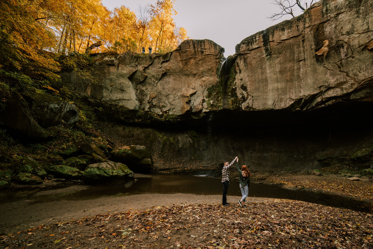 Puppy-Love-engagement-session-williamsport-falls-30