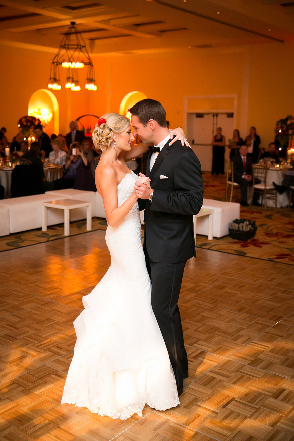 First dance at Estancia La Jolla