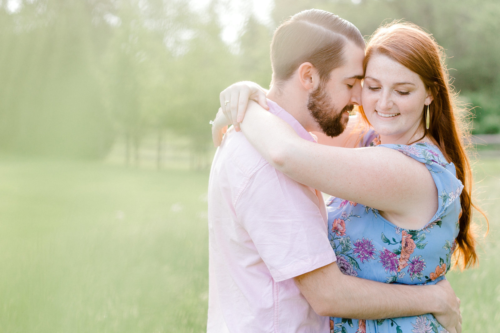 Manor house at prophecy Creek Blue Bell PA wedding venue summertime field engagement session lehigh valley based wedding and lifestyle photographer (72 of 108)