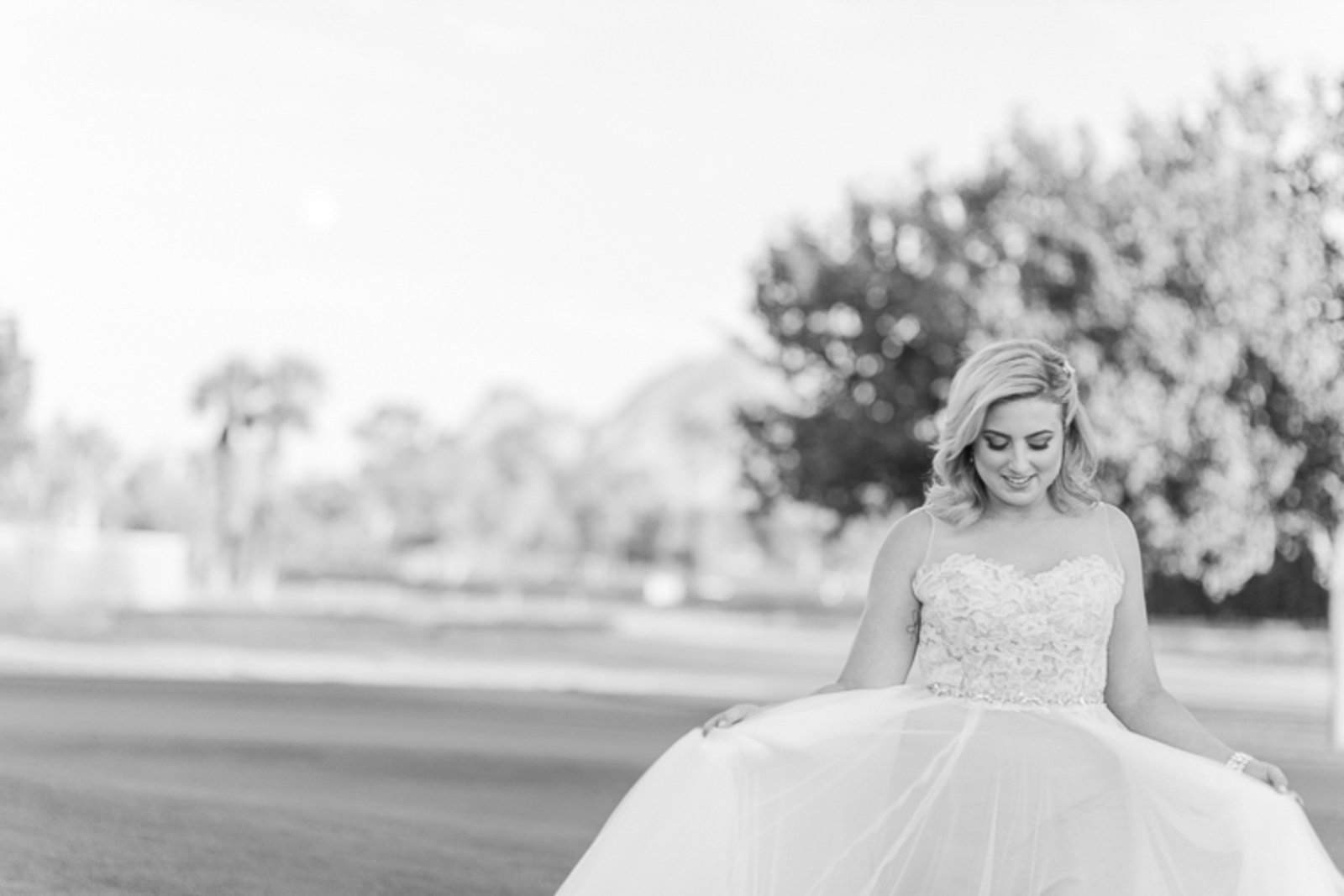 Bridal portrait taken by C. elyse photos at destination Phoenix, AZ wedding