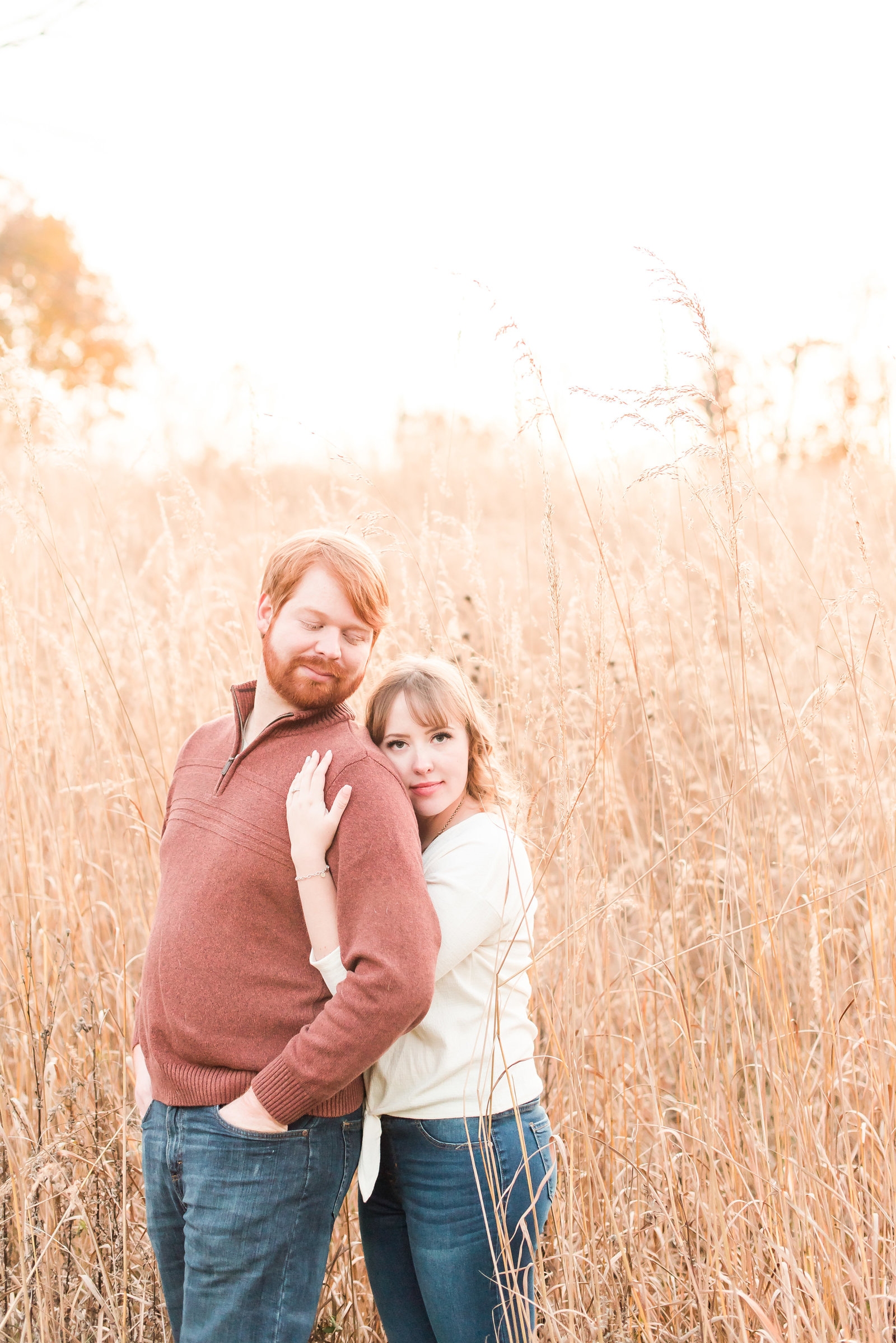 Engagement Session at Eagle Creek Park