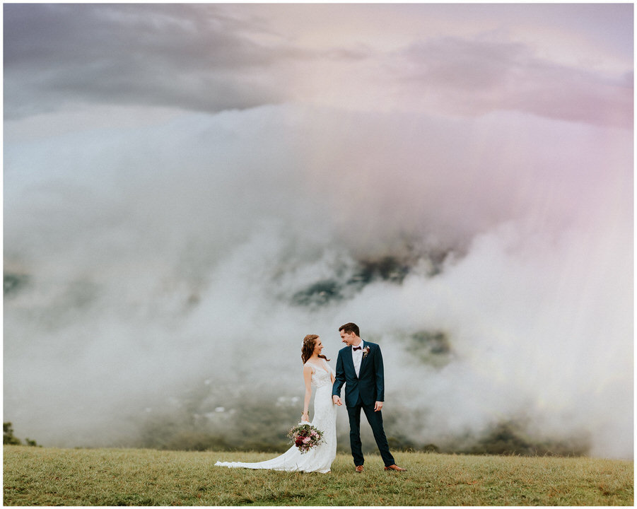 Best tamborine Mountain wedding photos
