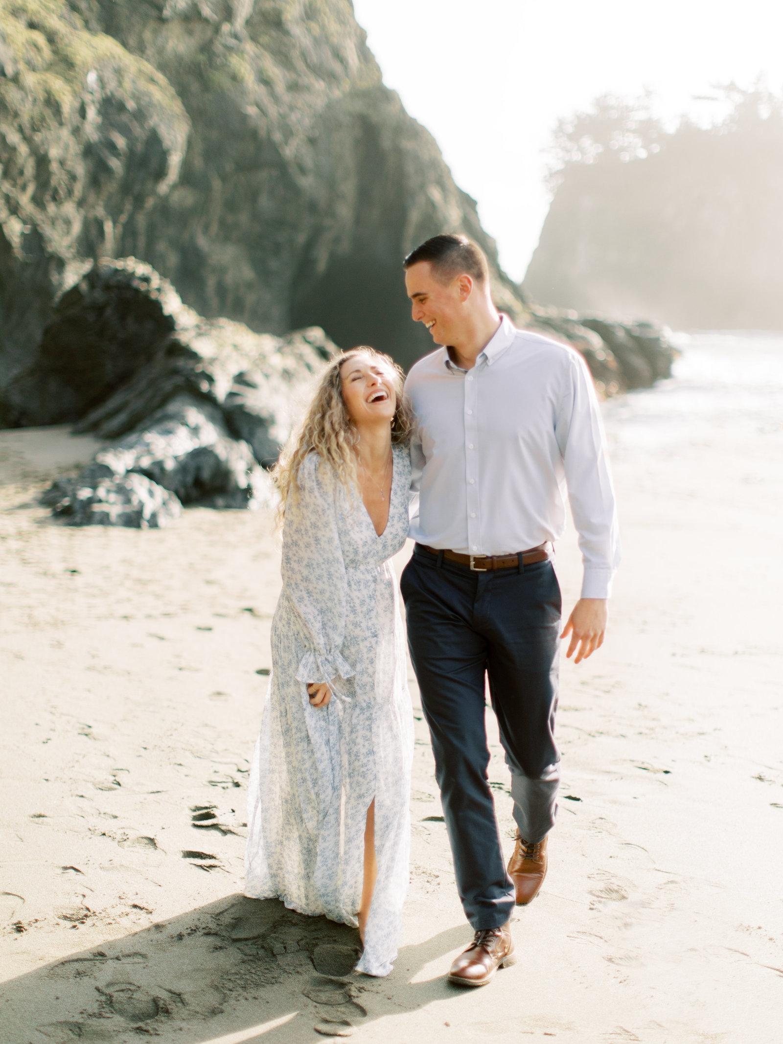 Engagement Session in Big Sur
