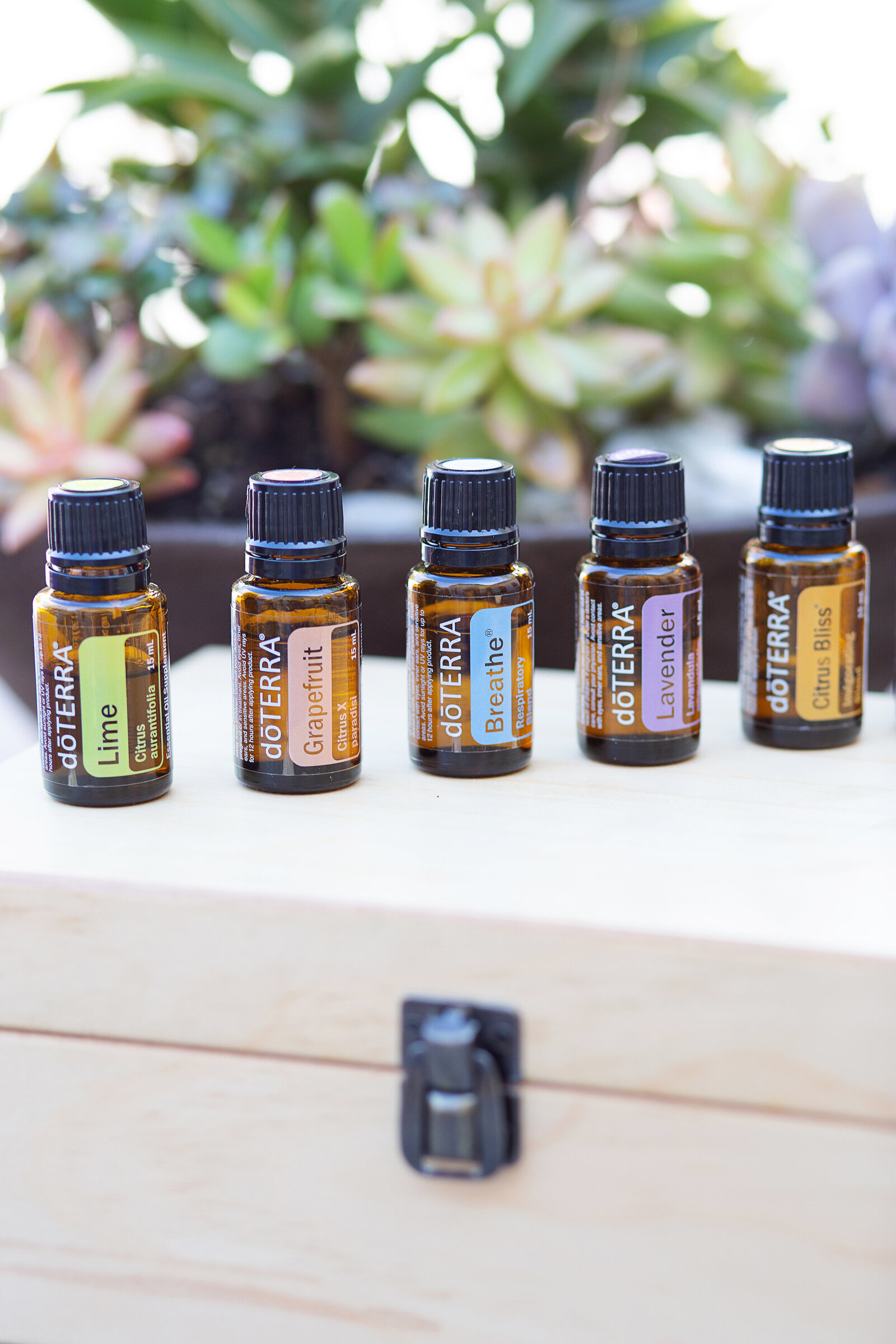 essential oils product photography