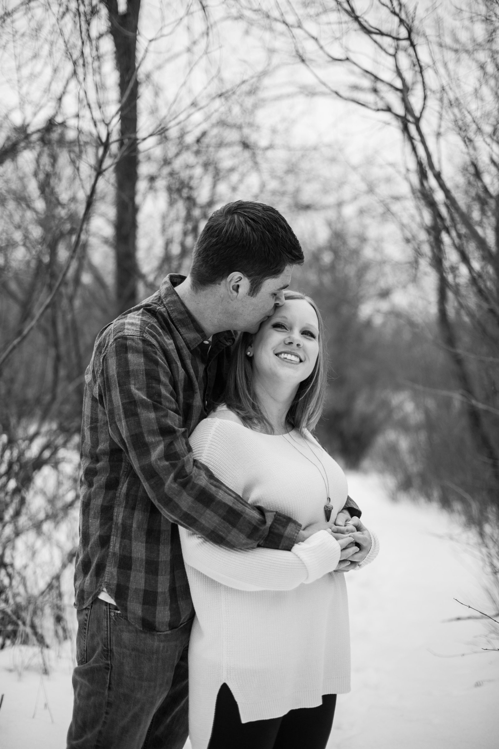 Minnesota Winter Engagement Photos 0975-2