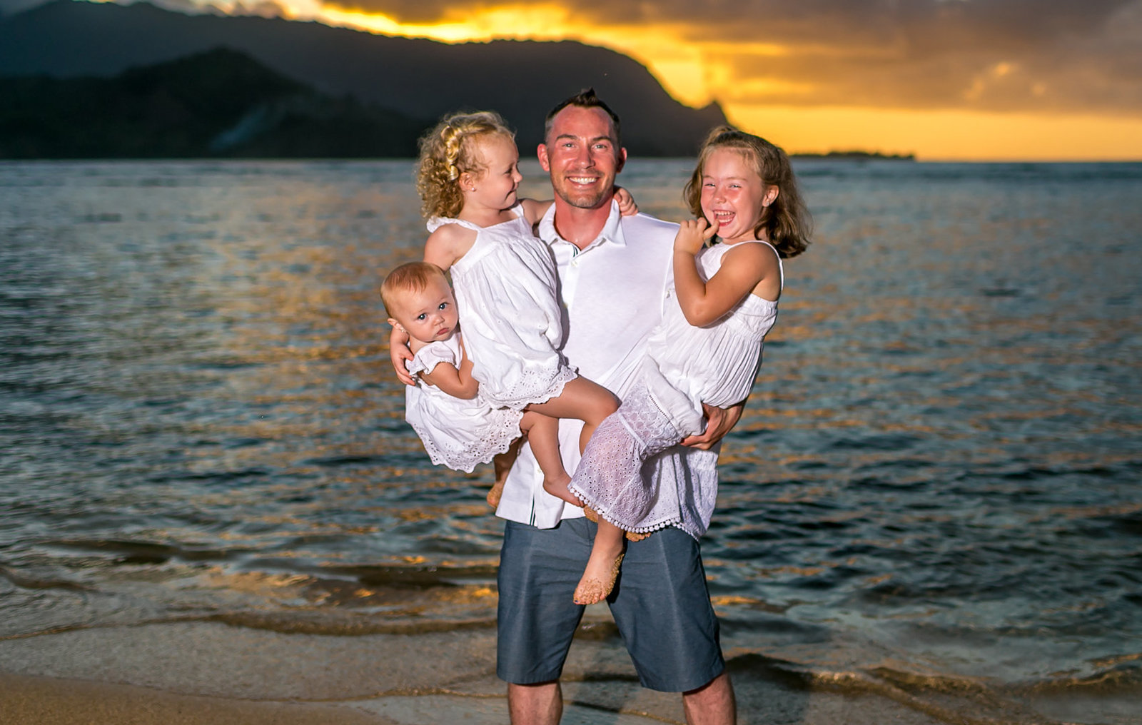 Hawaii family portrait photography