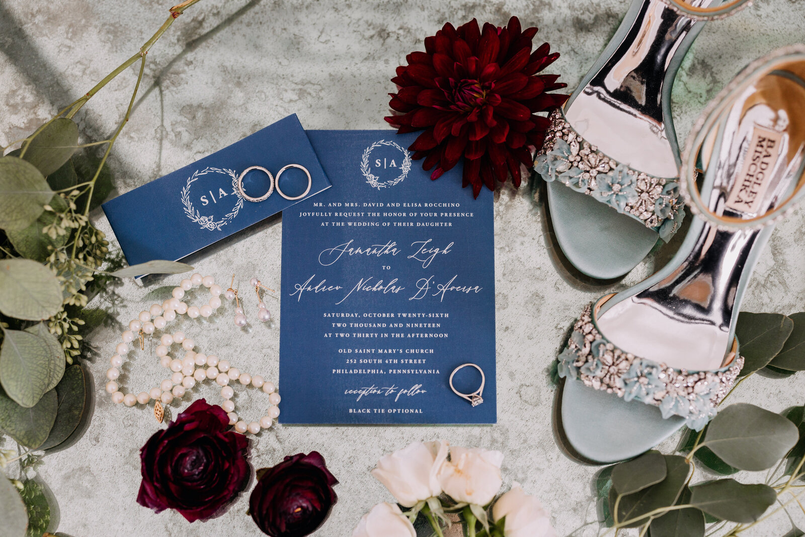 wedding invitation details