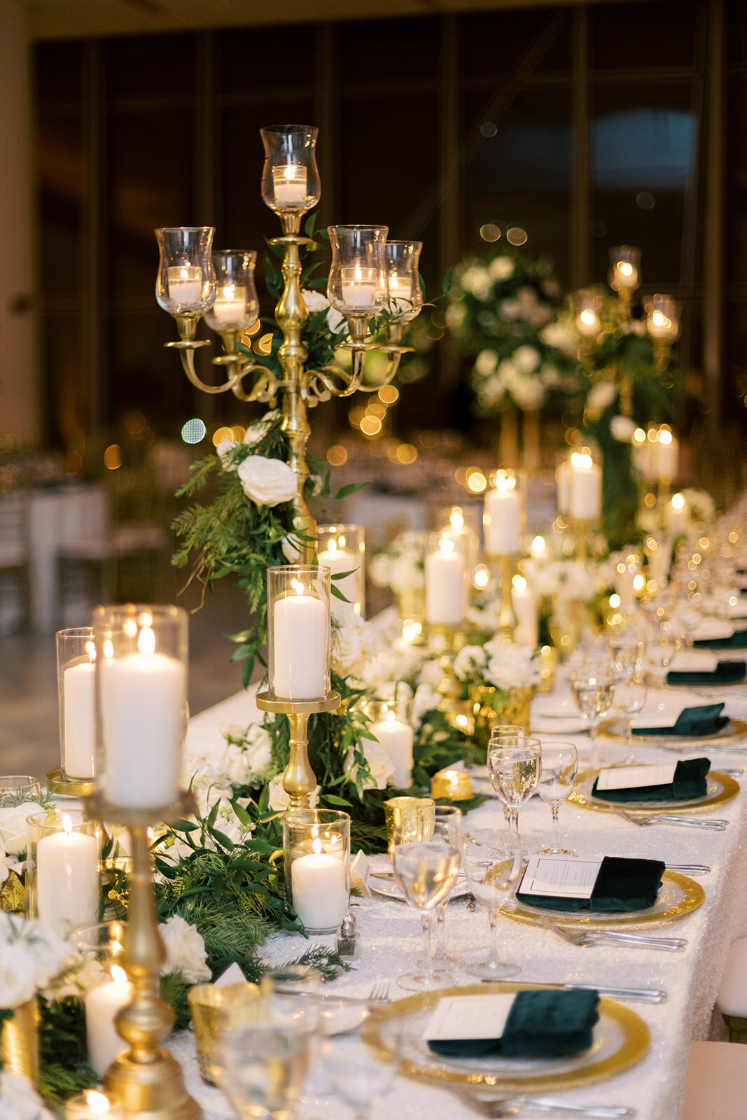 26-Venue-Six10-Wedding-garland-candleabra