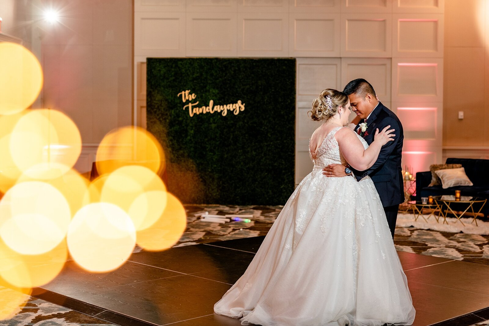 Bride and Groom private last dance | Four Seasons Wedding | Chynna Pacheco Photography