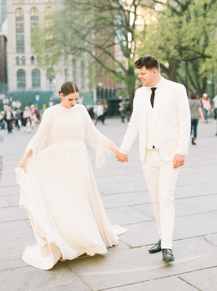 nyc city hall wedding photos