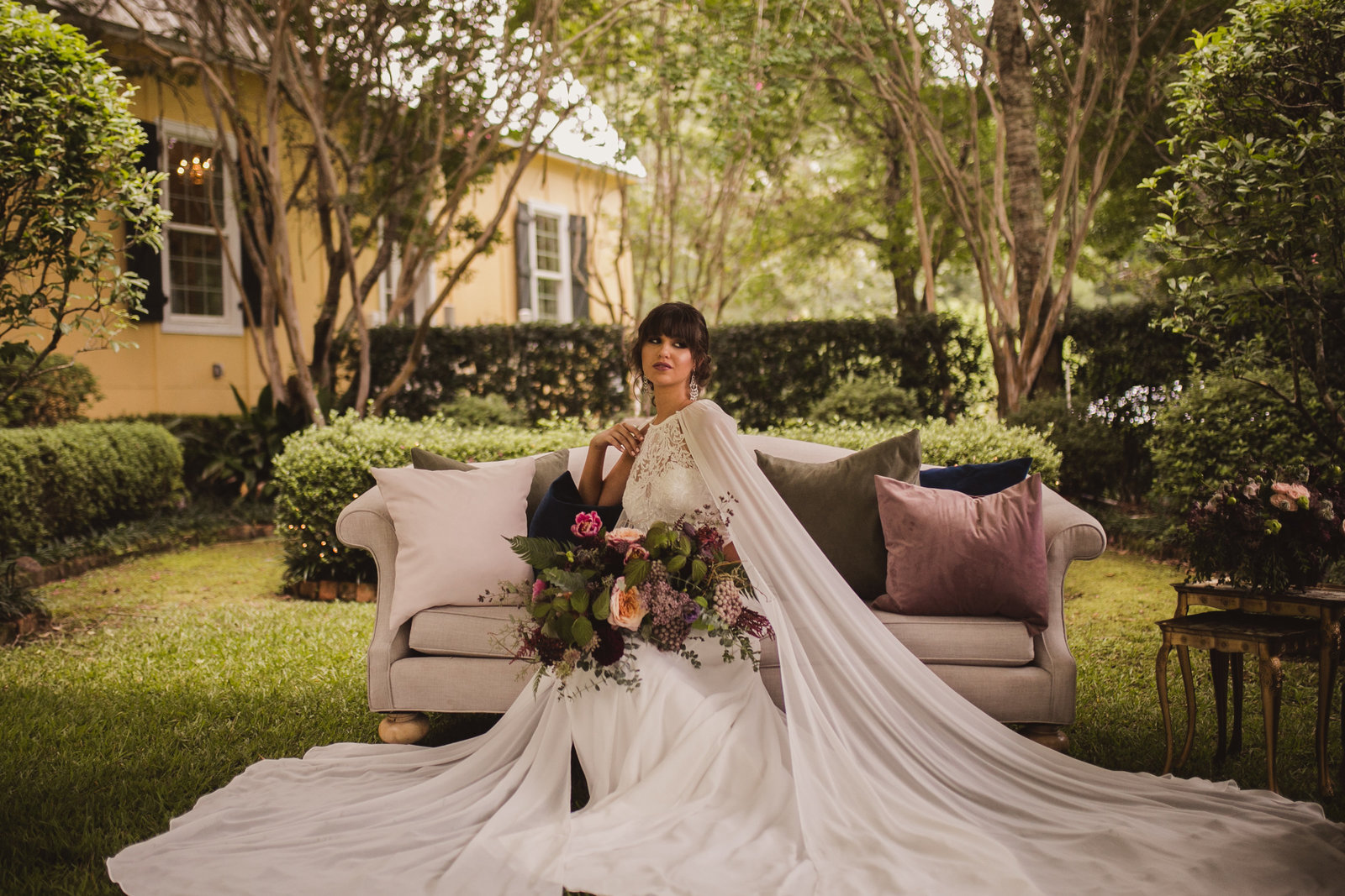 North House Styled New Orleans Wedding Shoot -102