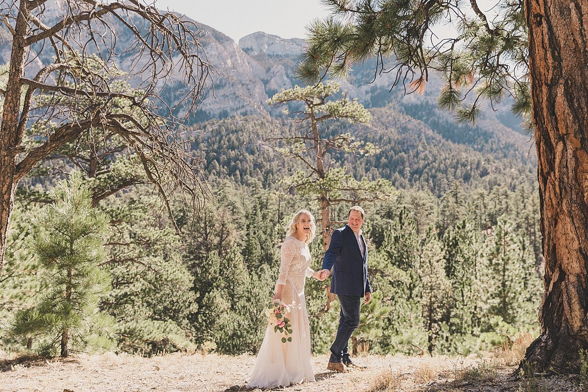 Mt Charleston Intimate Wedding