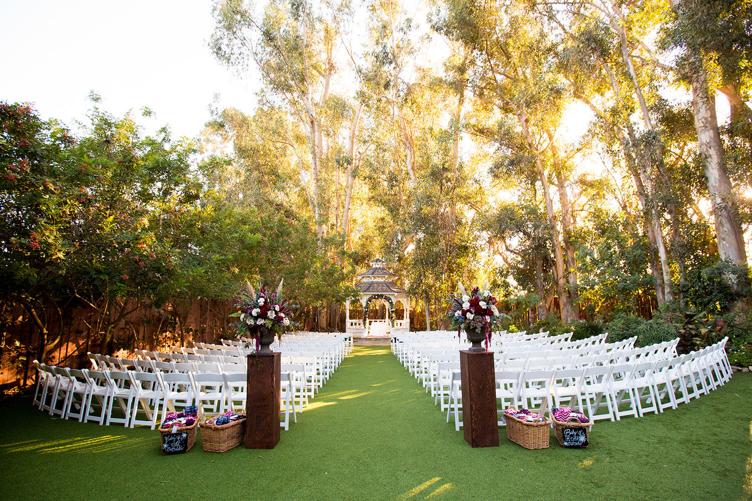 Twin Oaks Wedding  Ceremony