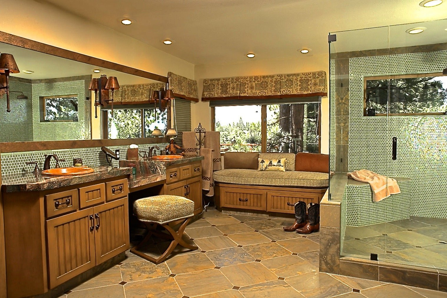 Arrowhead Vacation Home Master Bathroom