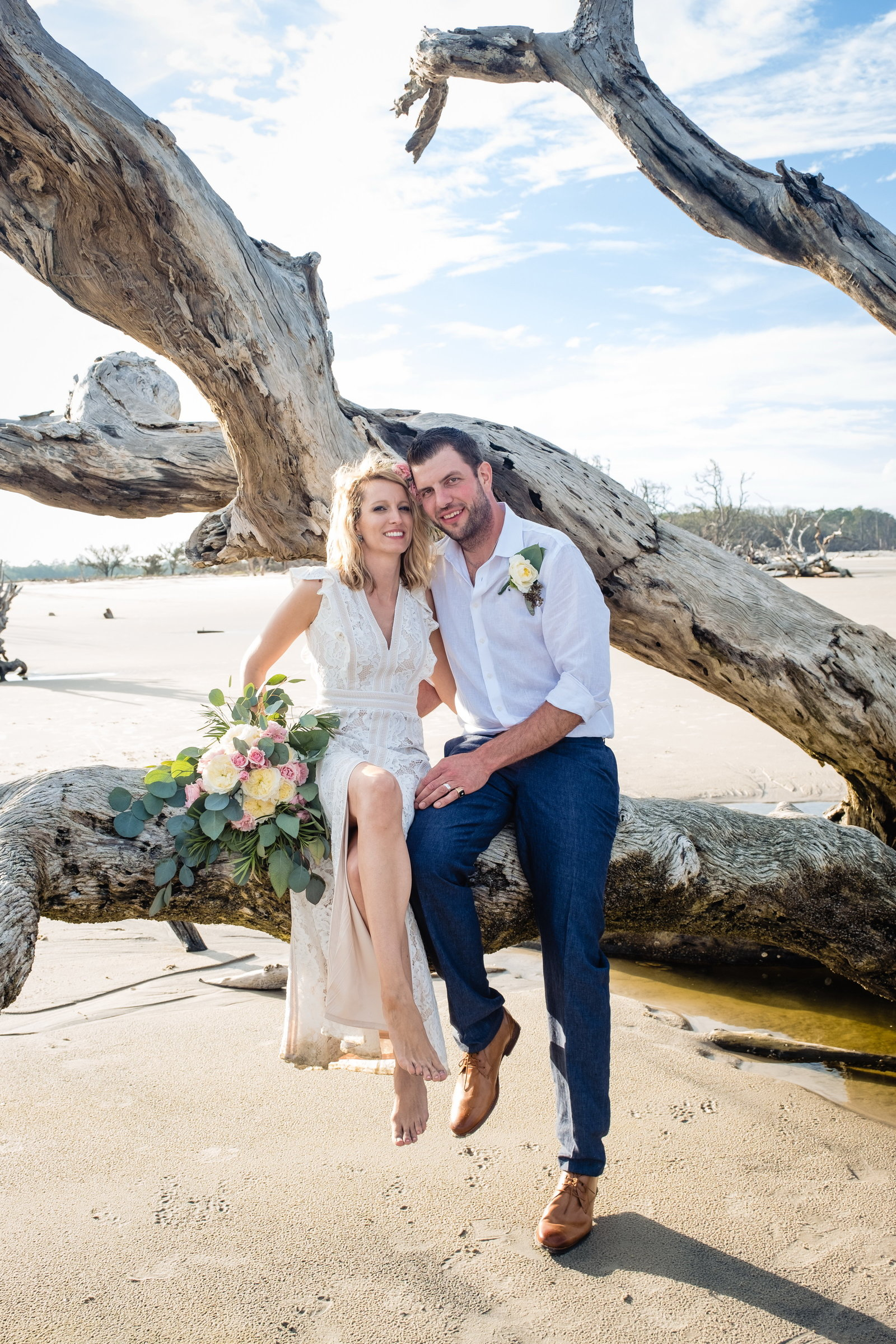Driftwood Beach Wedding, Bobbi Brinkman Photography, Julie + Lance