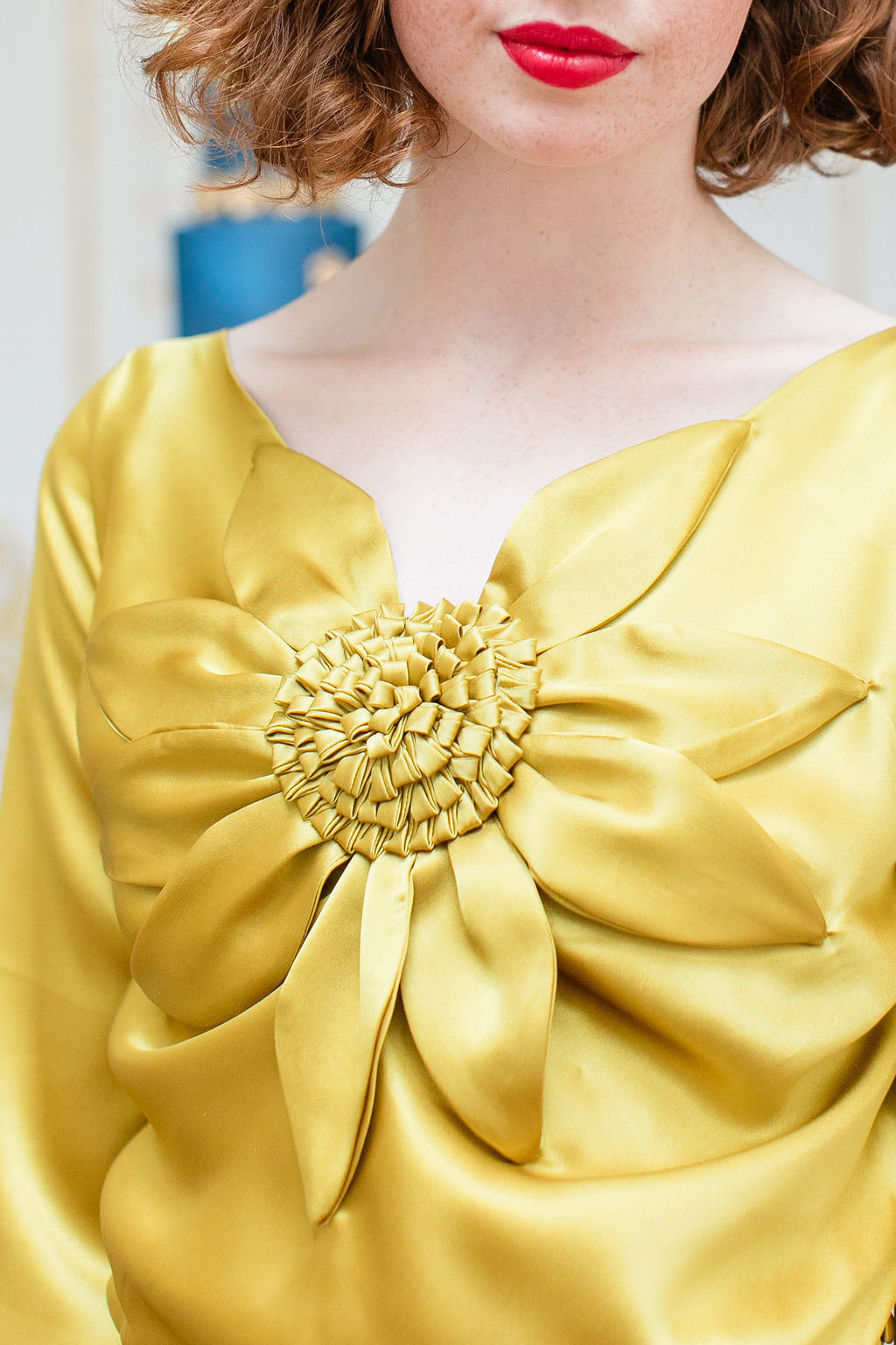 Yellow-silk-satin-evening-wedding-dress-JoanneFlemingDesign-RobertaFacchiniPhoto (4)