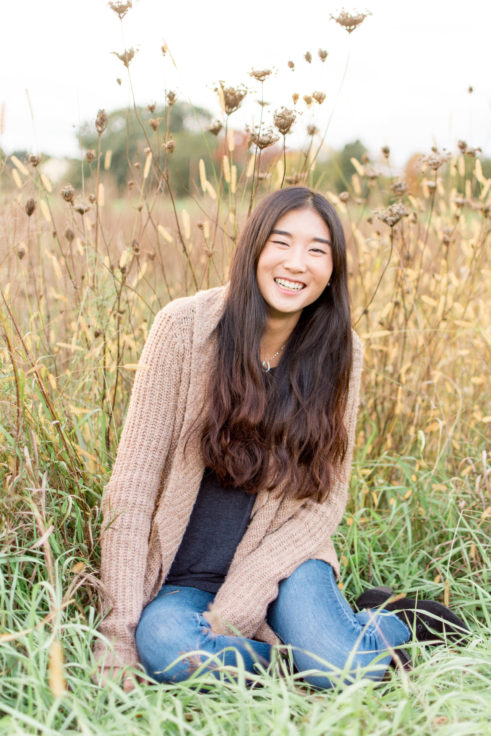 Laughing HS Senior Girl