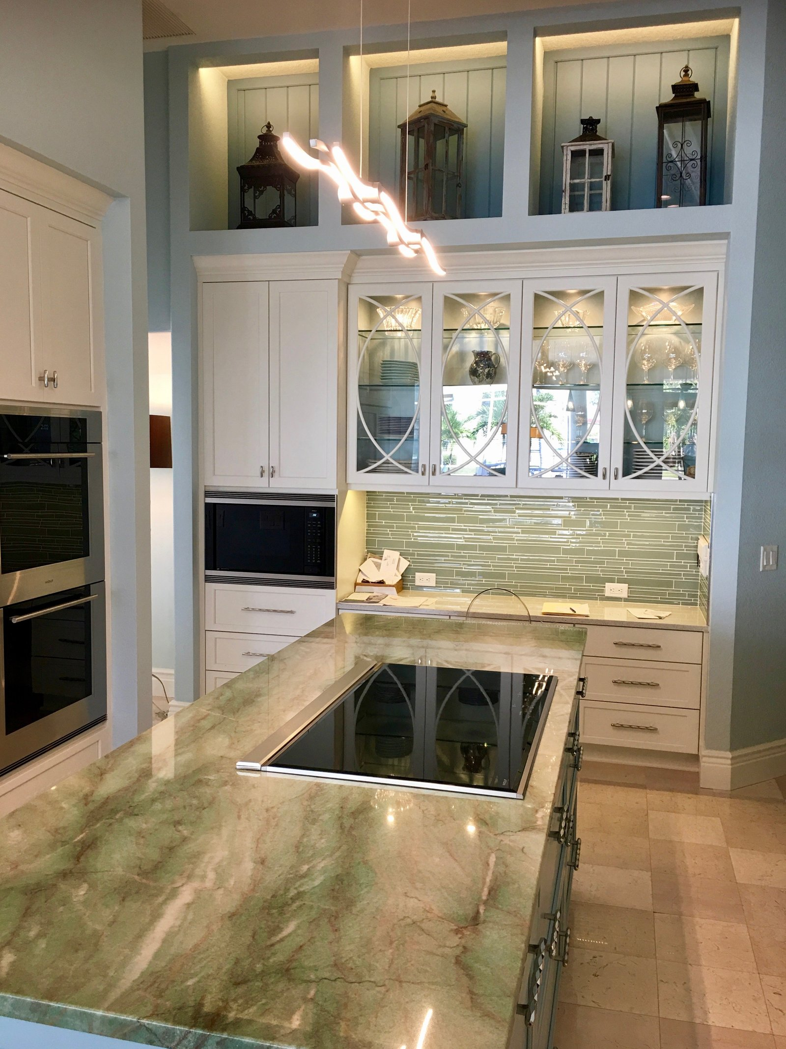 Coastal Kitchen Florida Interior Design