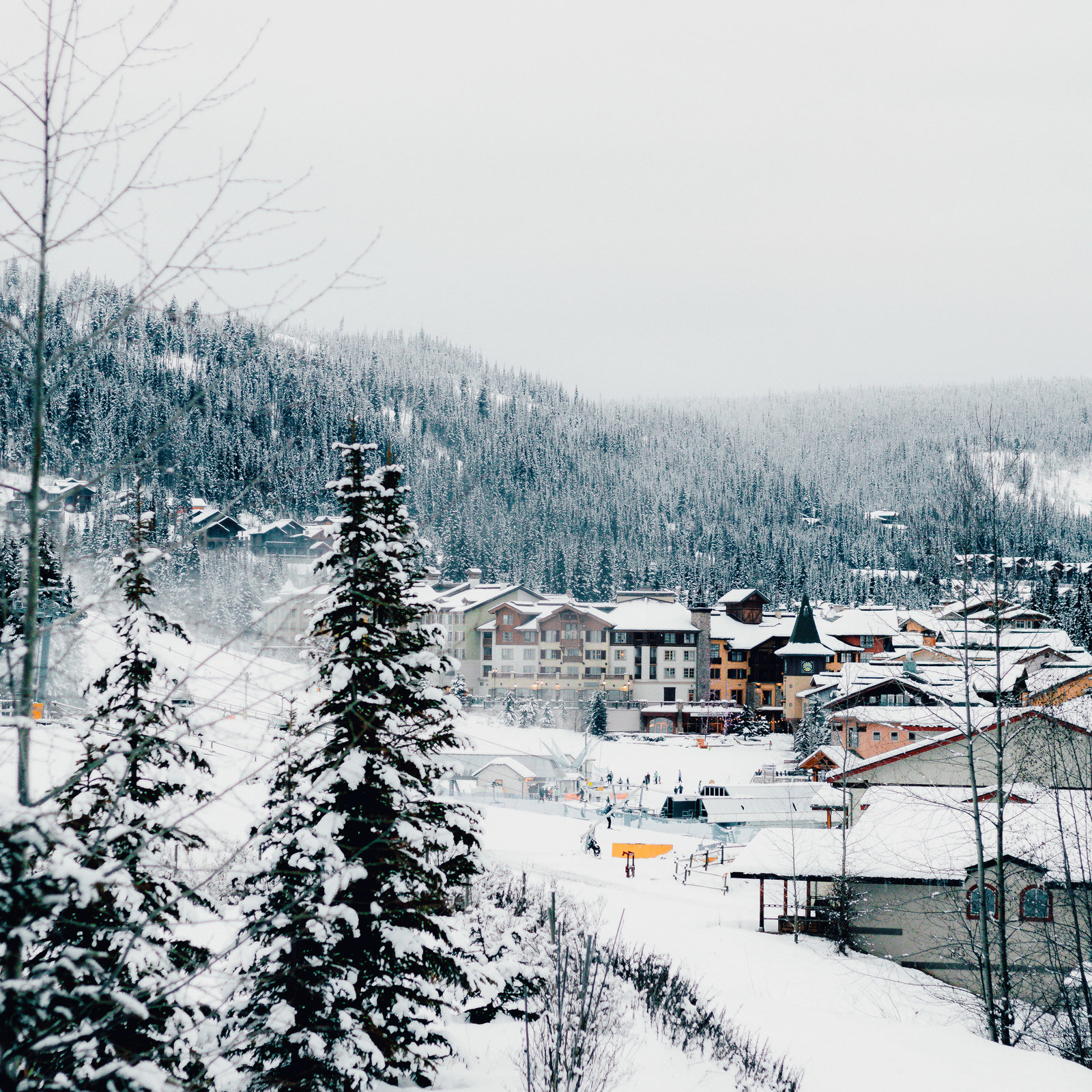 Winter Season in Sun Peaks