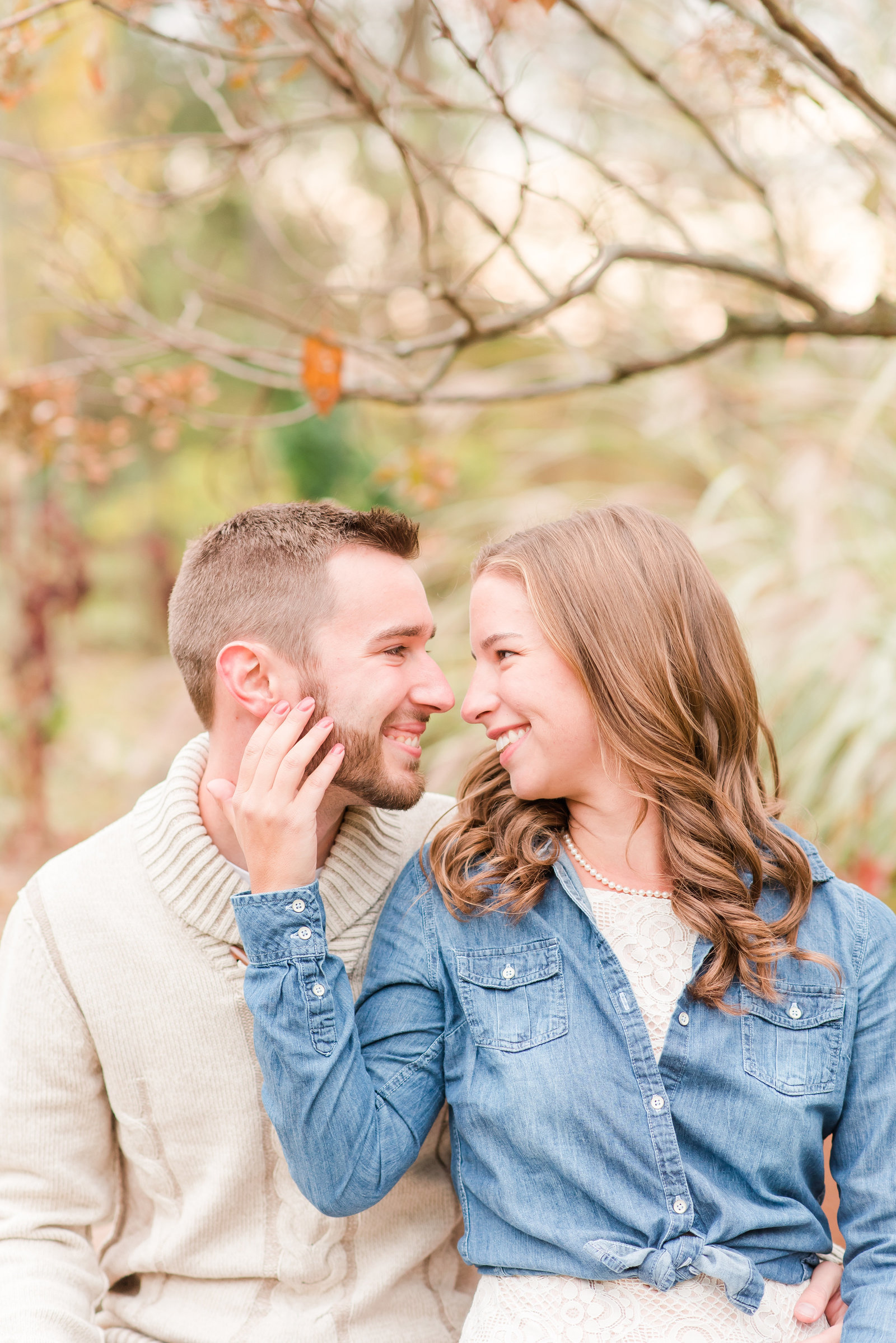 Defries Gardens Engagement Session