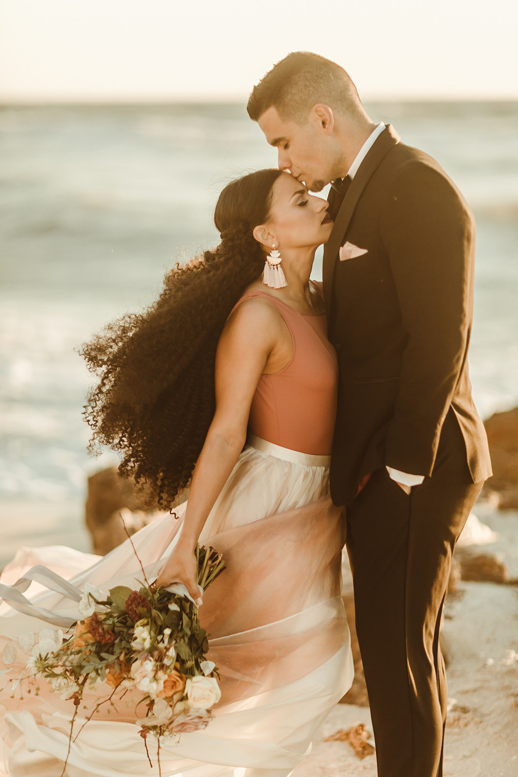 Celestial wedding inspiration_ beach elopement style-119