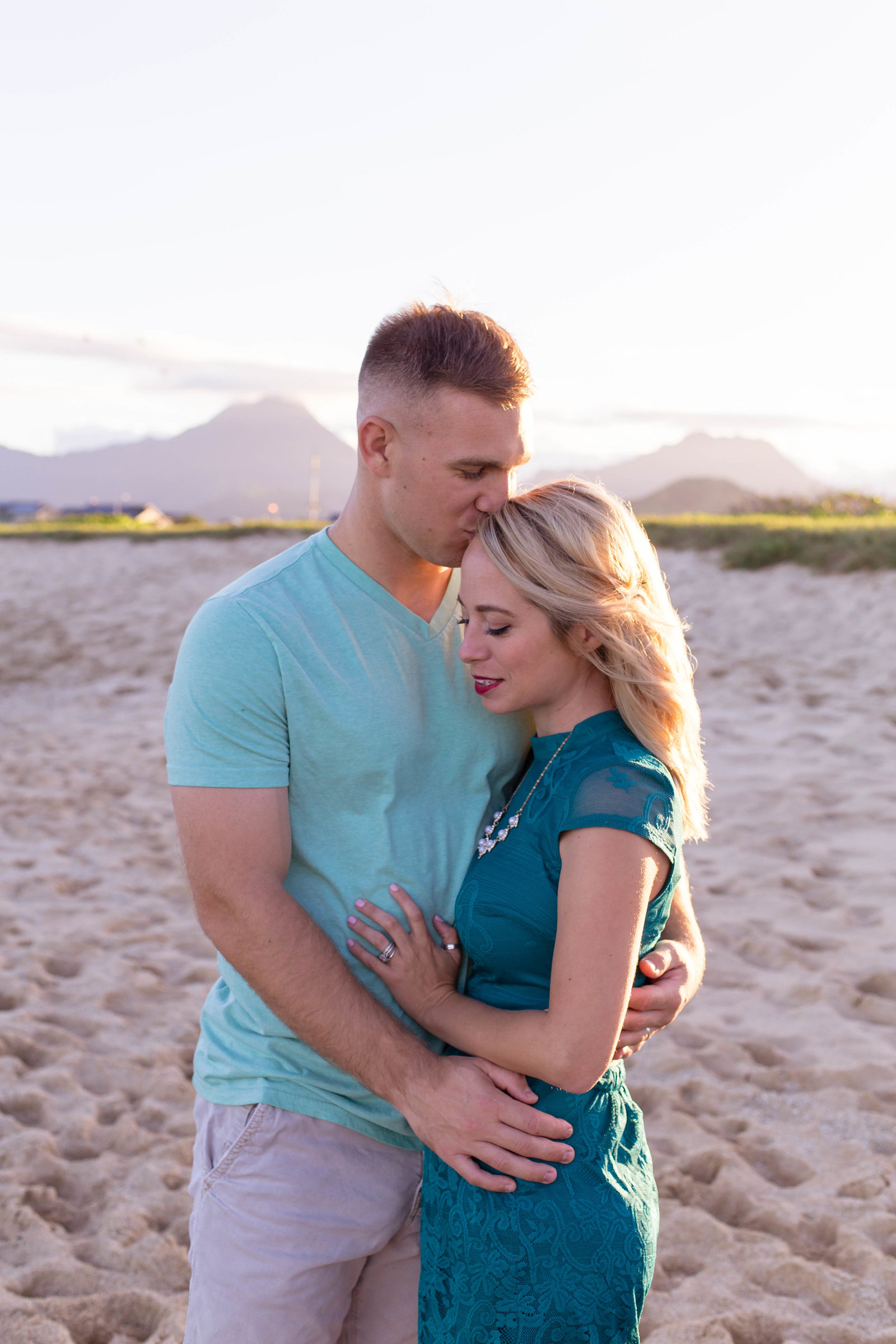 Oahu, Hawaii Lifestyle Photographer - Lifestyle Photography - Brooke Flanagan Photography - Couple on the Beach
