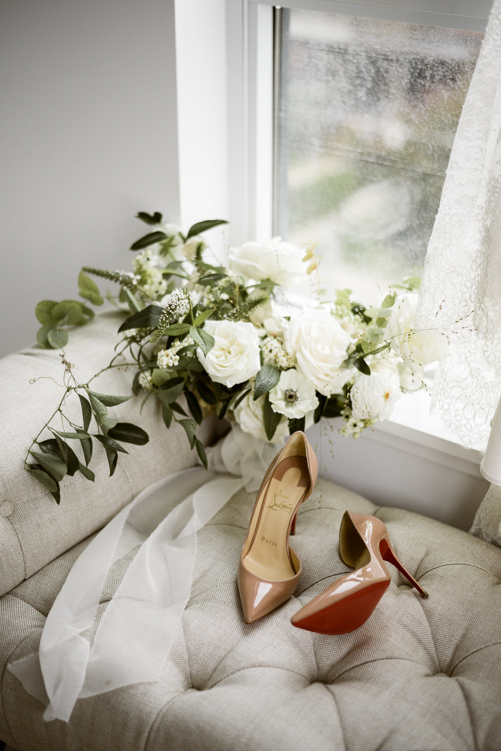Louboutins and flowers