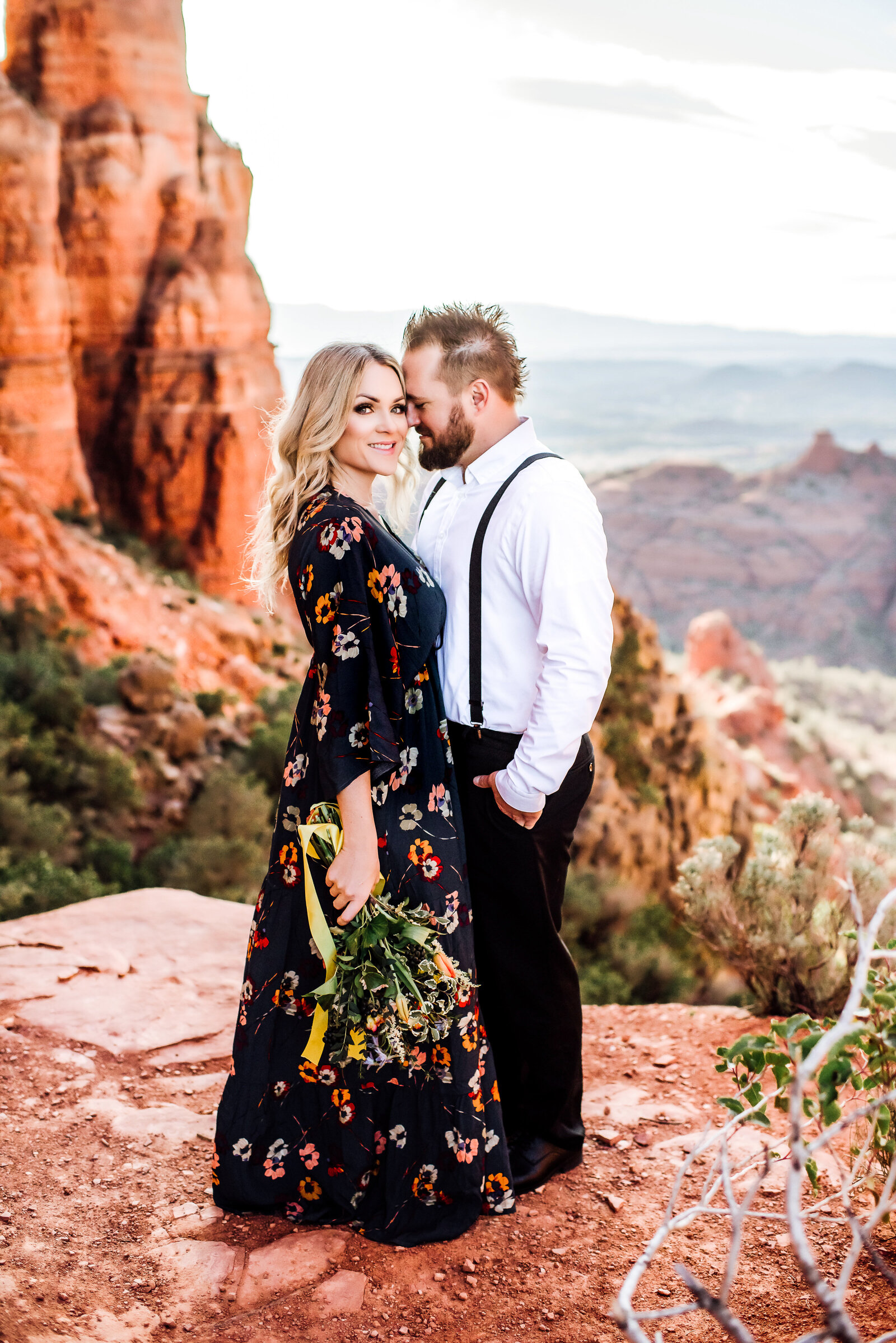Cathedral Rock | Sedona Elopement| Jennifer G Photograpy-1