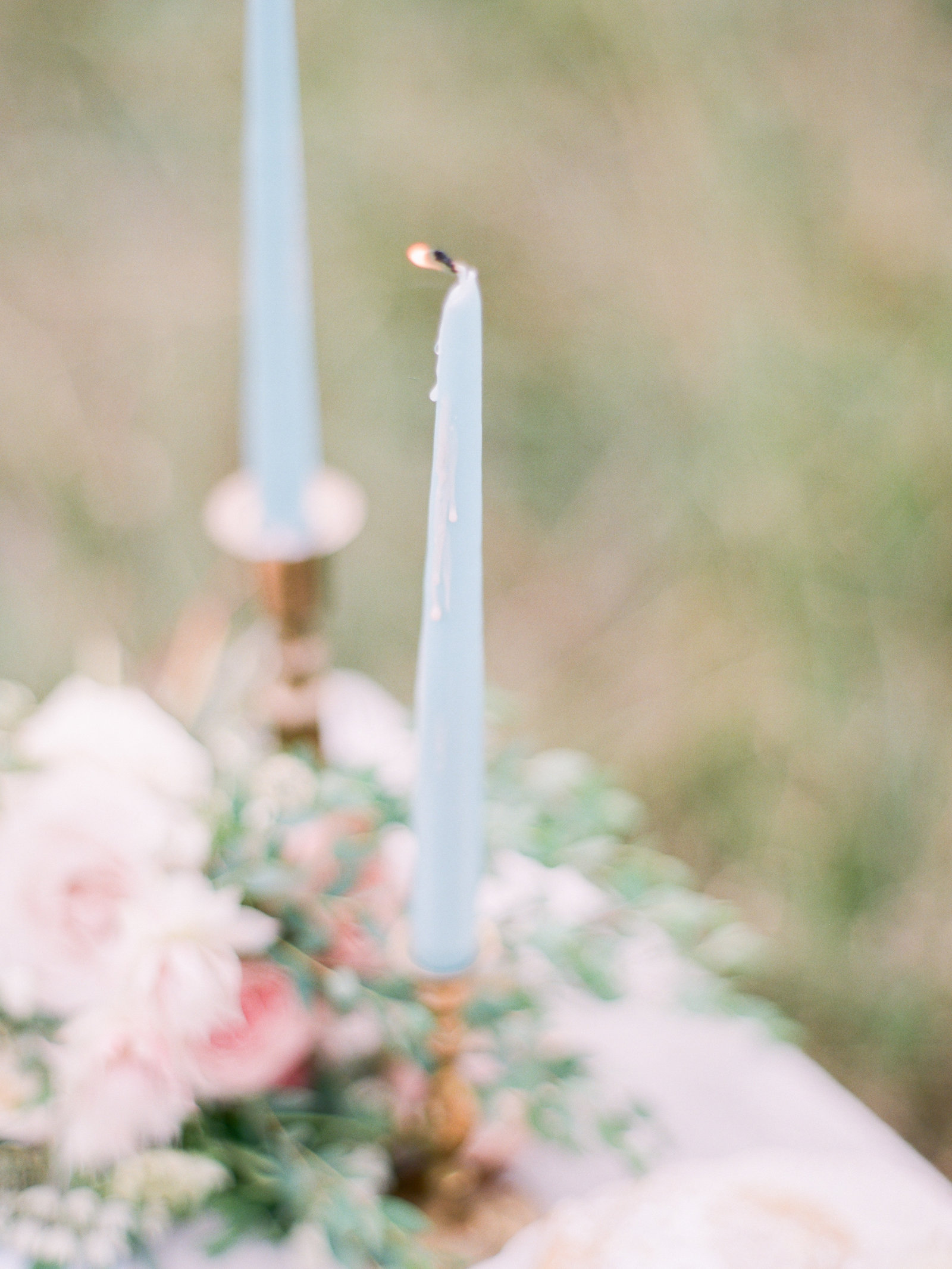 Christa O'Brien Photography Georgia Wedding photographer fine art film  blue and blush