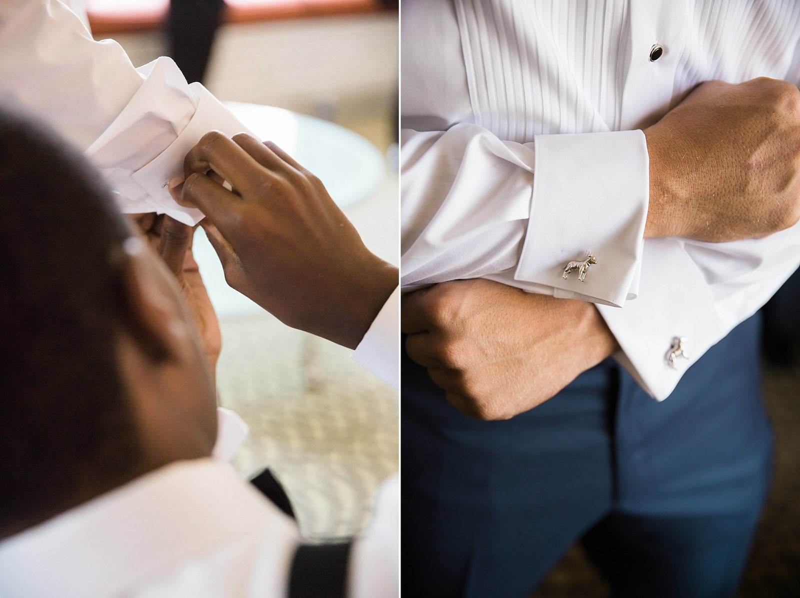M Harris Studios_Trump National Golf Club Wedding_groom cuff links