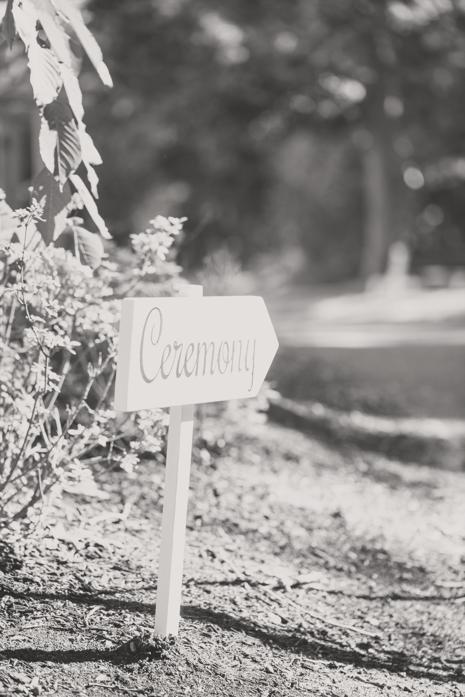 ceremony sign at Camp Pa-Qua-Tuck