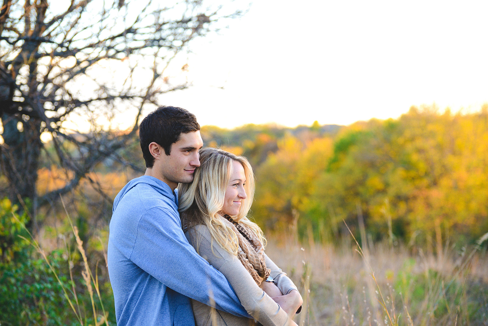 Engagement Pictures at Shawnee Mission Park-48