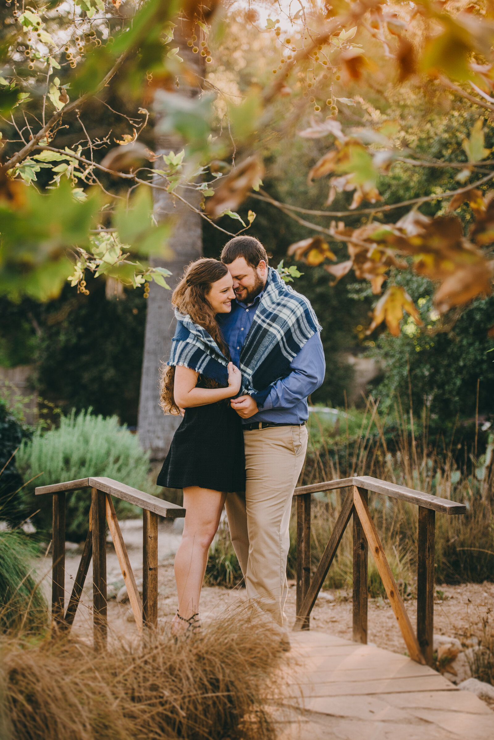 arlington garden pasadena engagement photography