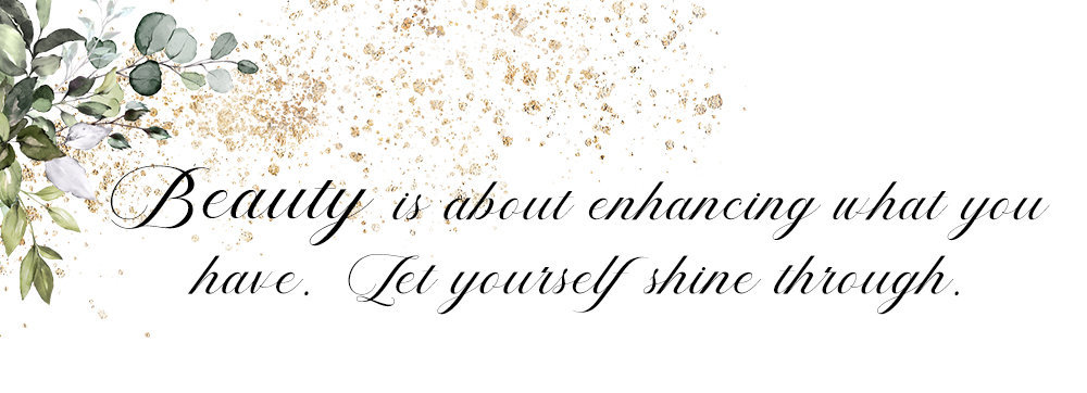 Let yourself shine through copy