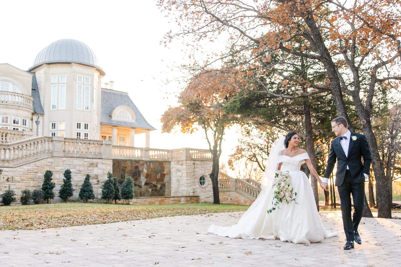 The Olana, Elegant Mansion Wedding, Dallas, Texas