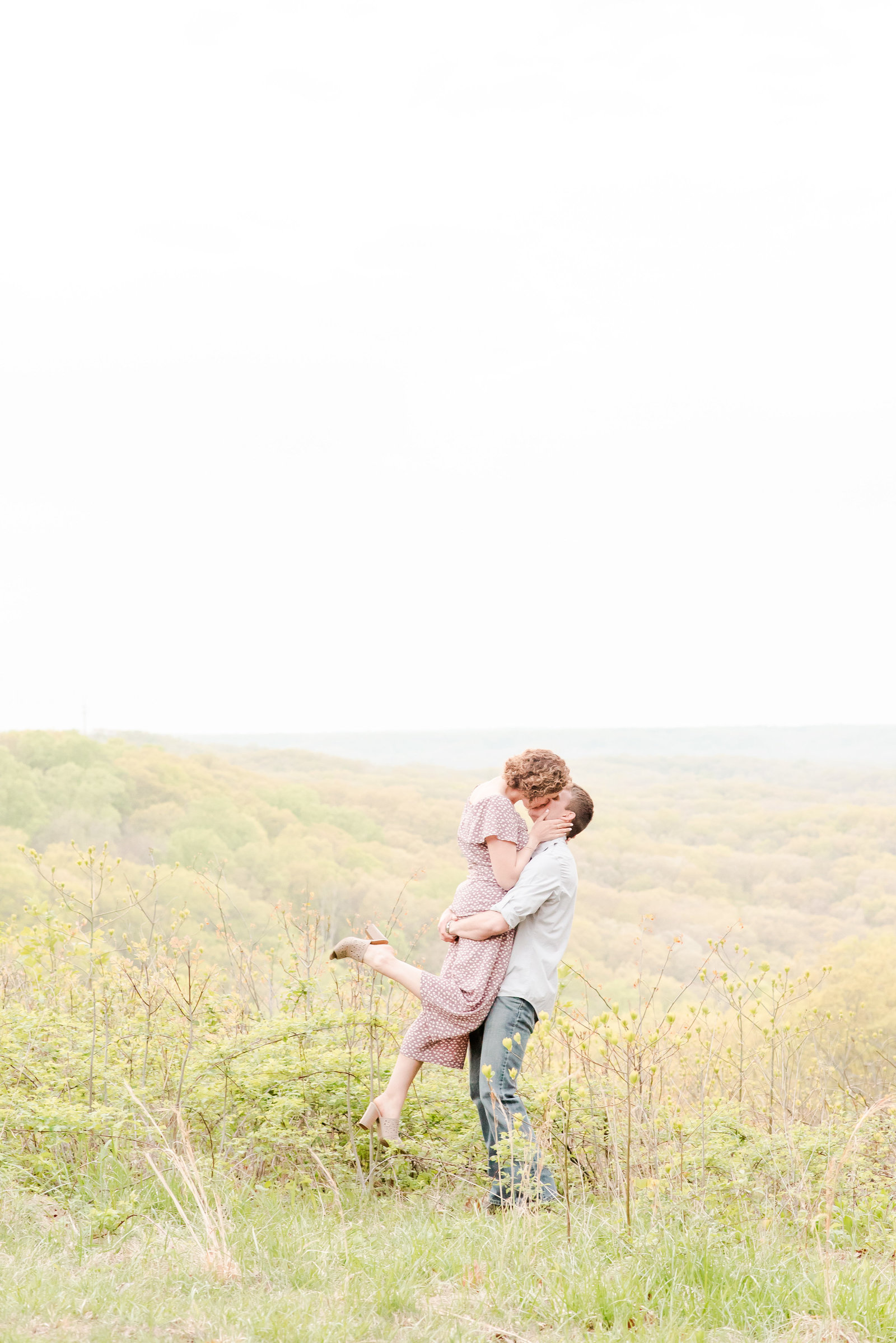 Engagement Session at Brown County State Park