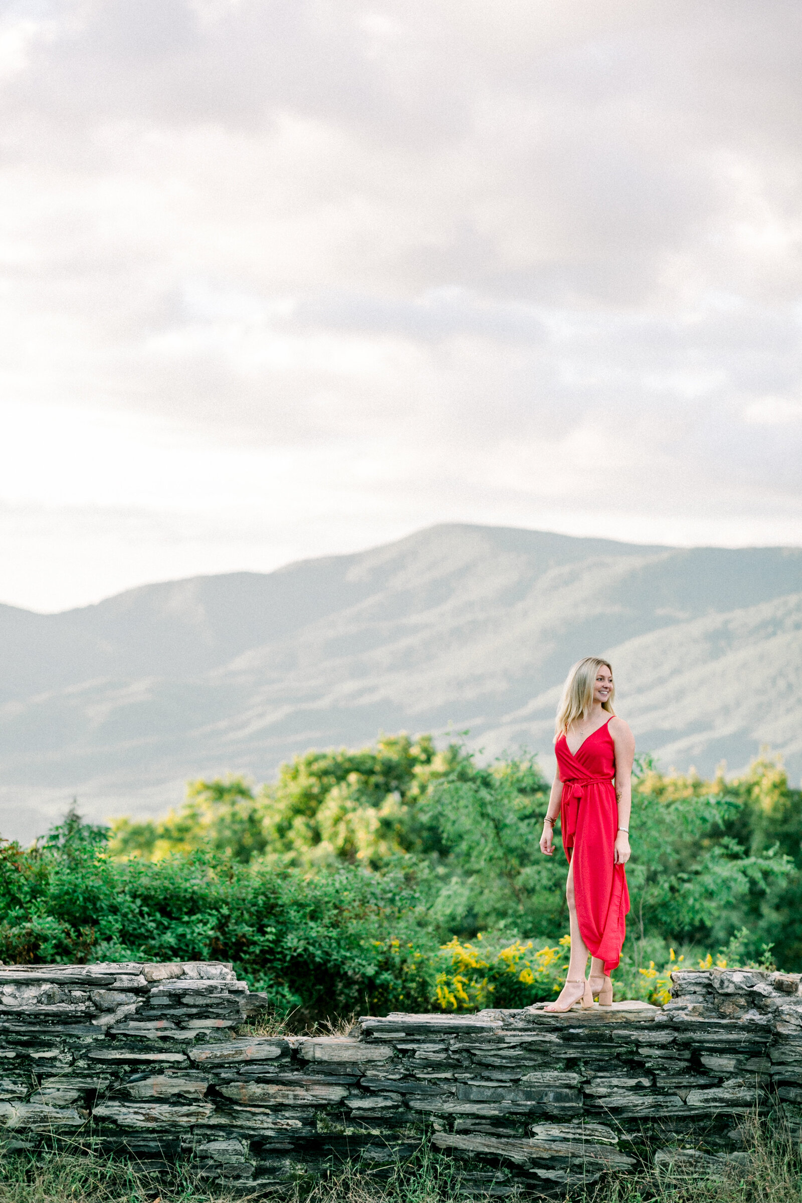 The bride-to-be captured by Staci Addison Photography