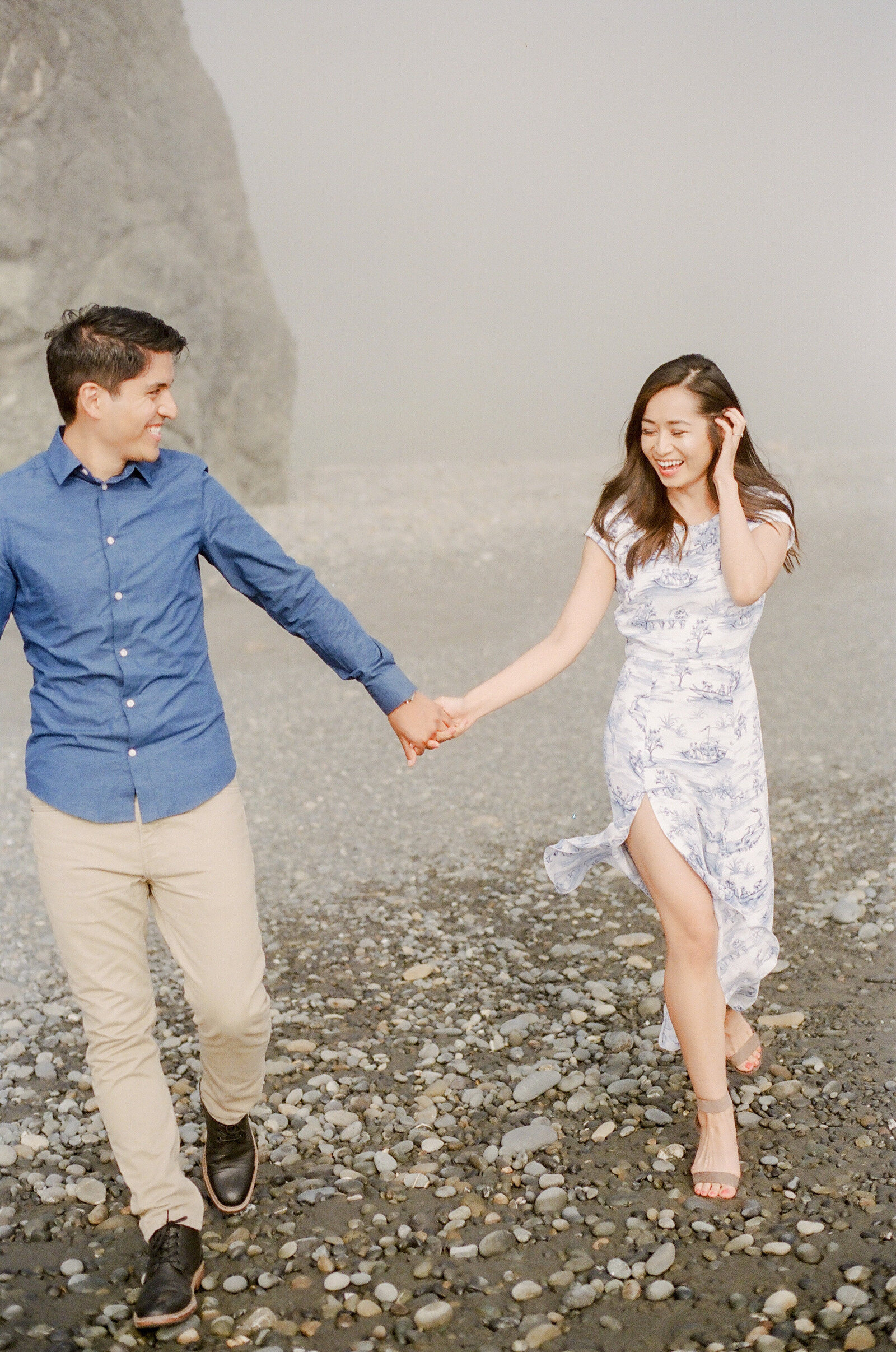 M & M Engagement at Ruby beach (8)