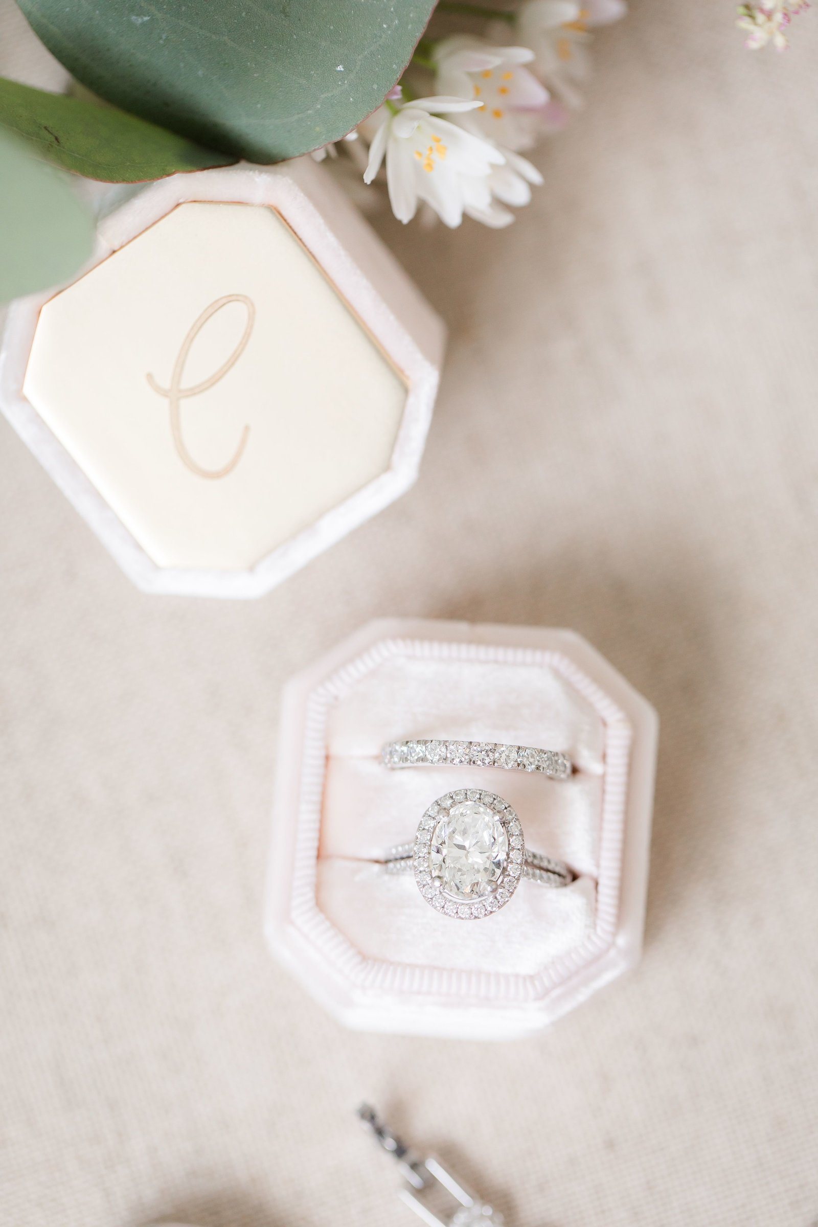 Engagement ring in a Mrs. Box