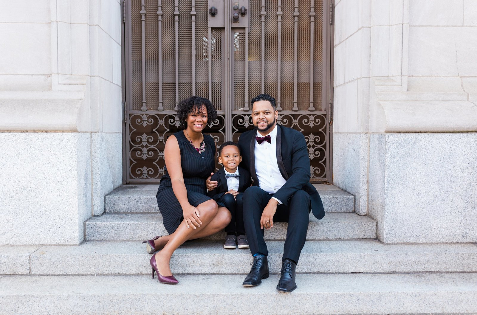 Black family photographers in Durham