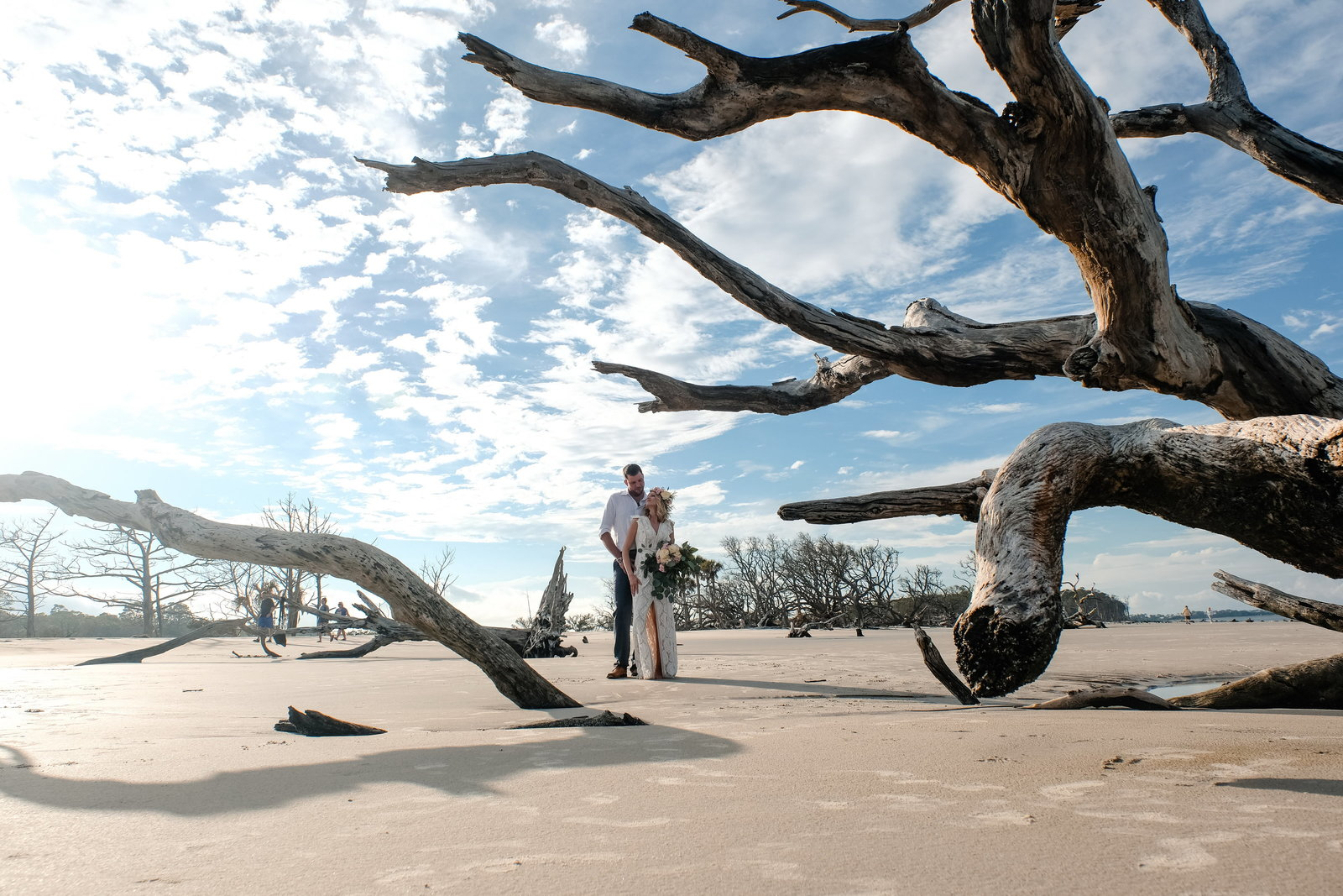 Bobbi Brinkman Photography, Driftwood Beach Wedding