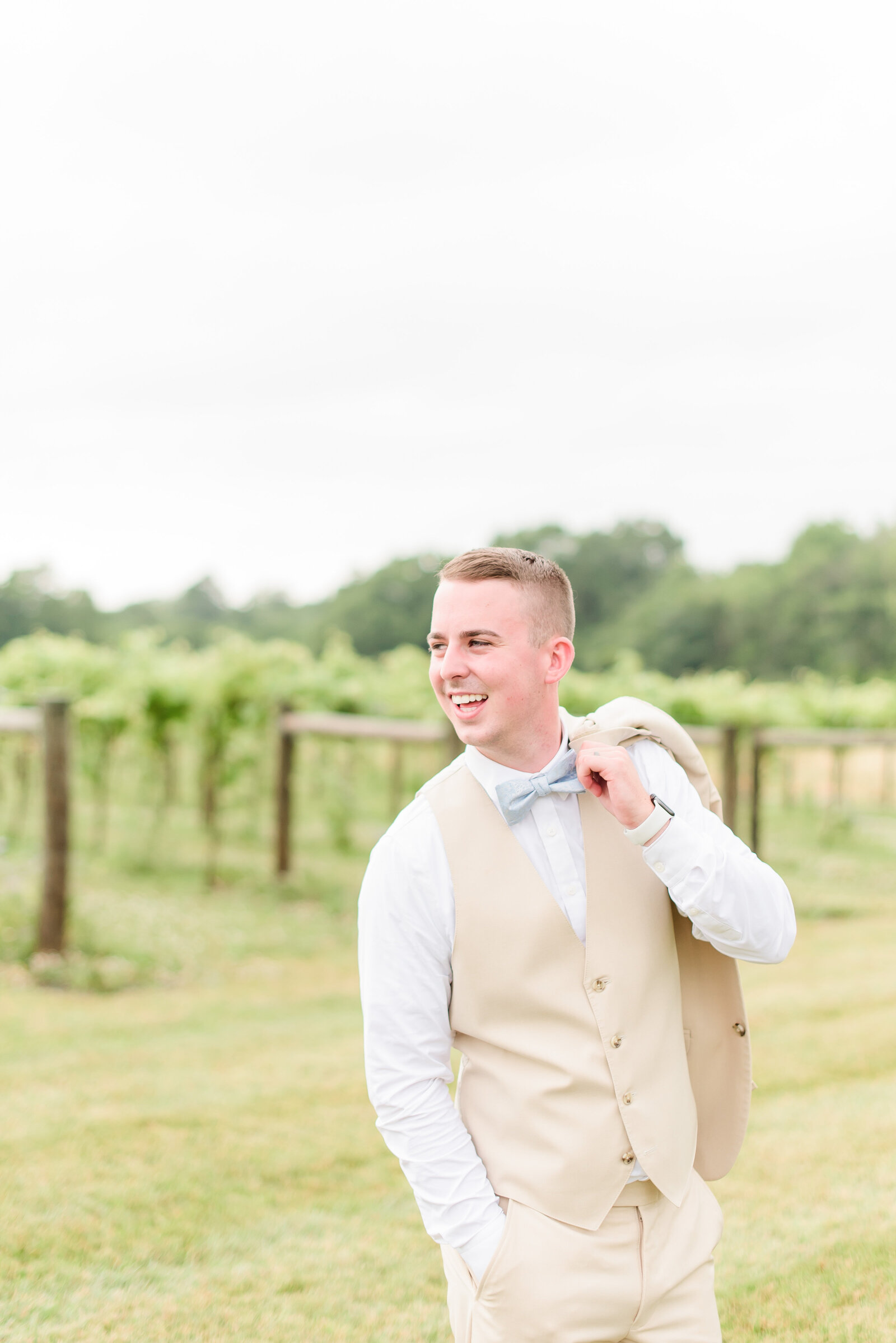 Groom Portraits at The Sycamore at Mallow Run