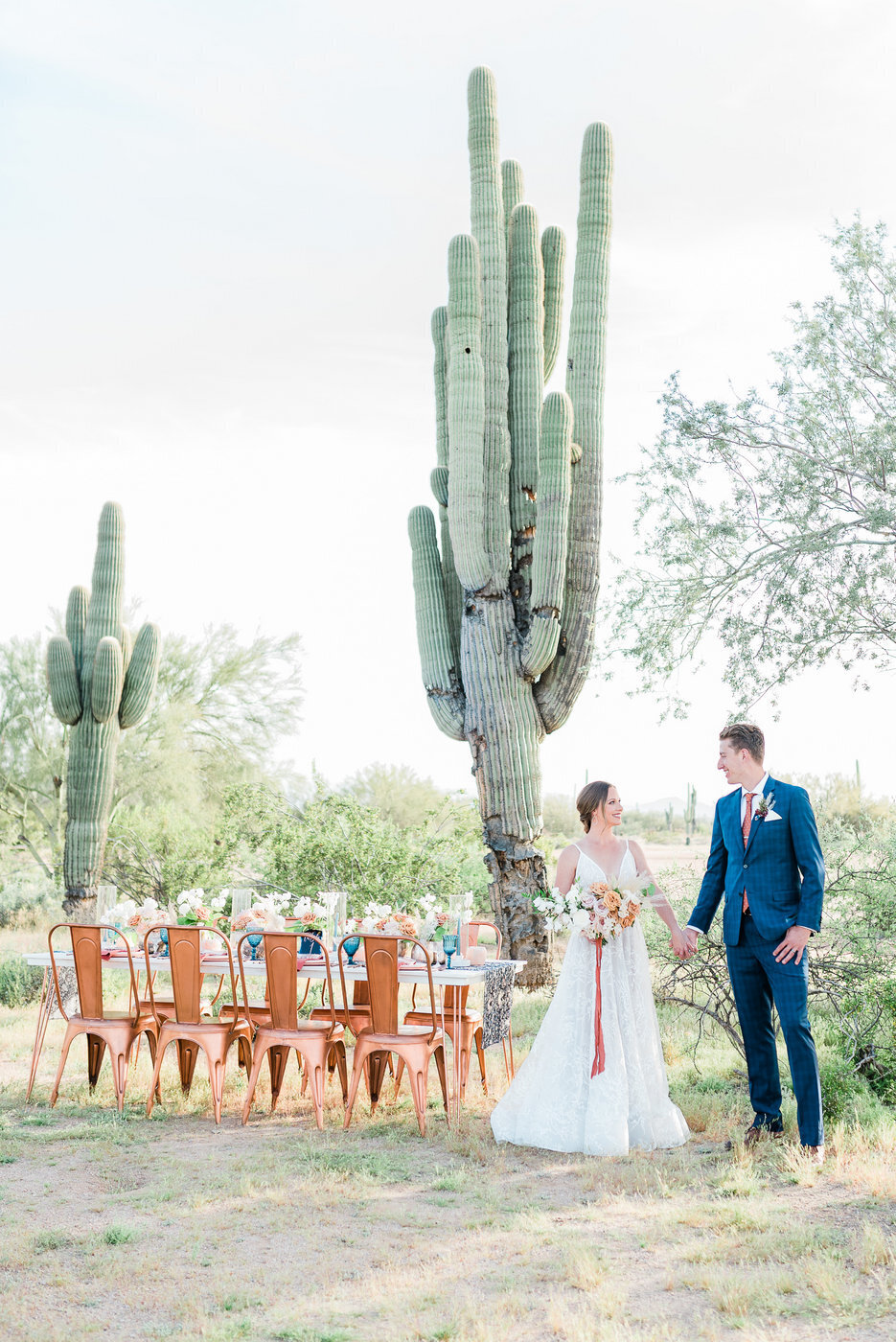 Modern Copper Desert Wedding Styled Shoot 2019-0077