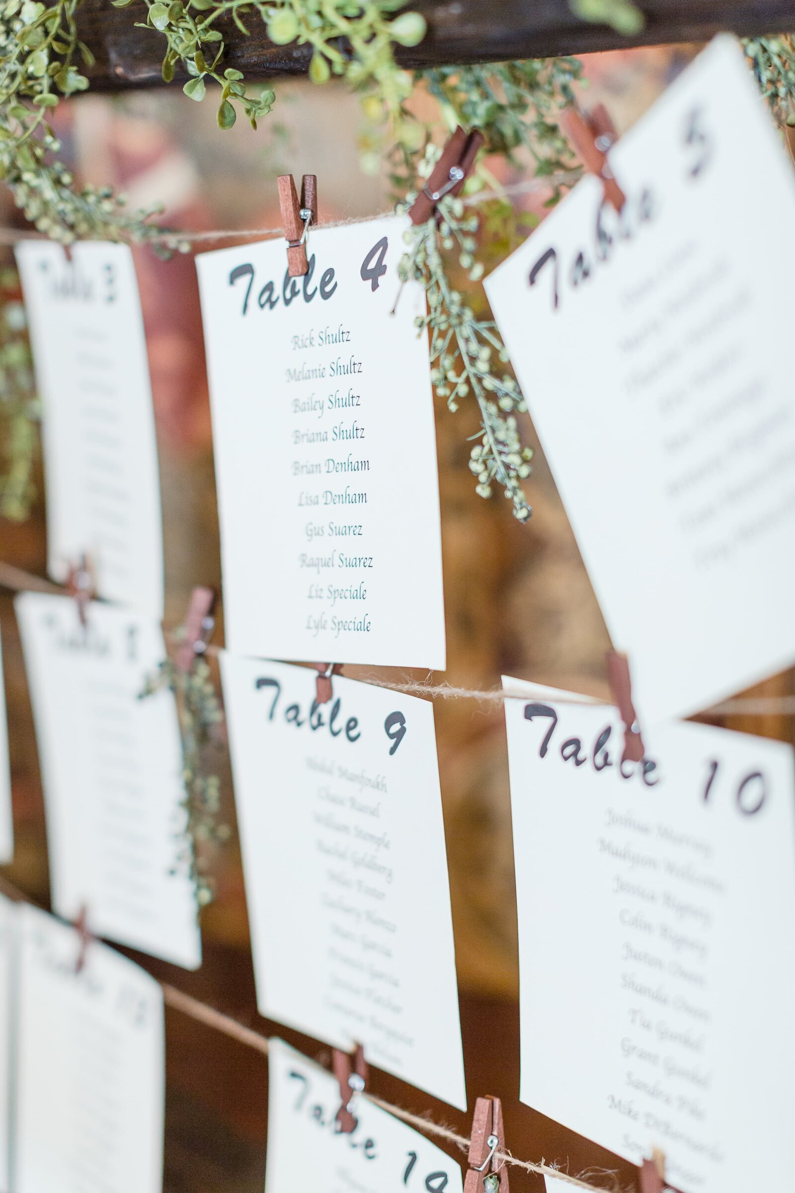 reception-place-card-display